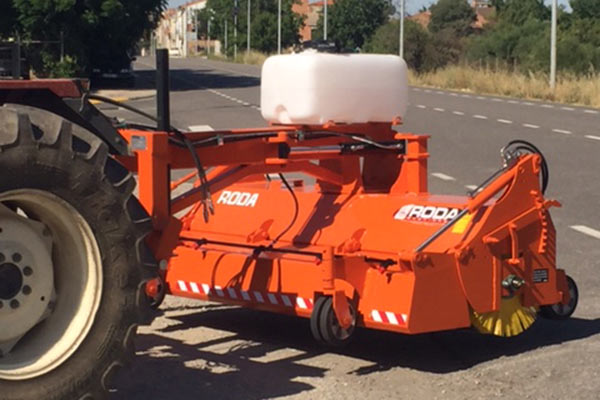 eco due trasera sweeper