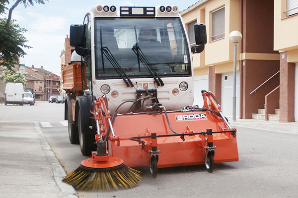 SWEEPER ECO DUE DELANTERA
