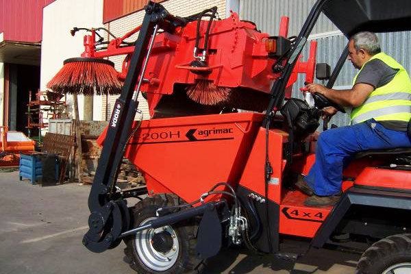 eco dumper sweeper